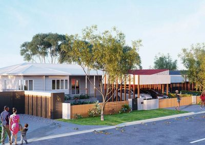 The Cascades | Entrance and Lot 1 | House and Land for Sale in Kenmore, Brisbane | Artist's Impression