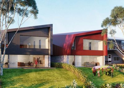 The Cascades | Lots 2 and 3 Rear View | House and Land for Sale in Kenmore, Brisbane | Artist's Impression