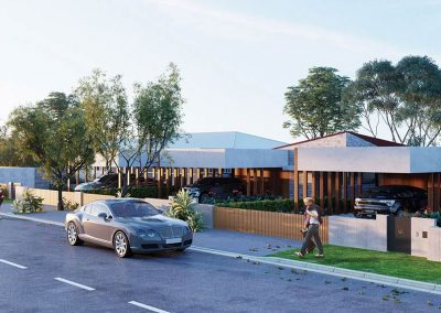 The Cascades | Lots 2 and 3 Front View | House and Land for Sale in Kenmore, Brisbane | Artist's Impression