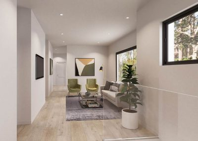 The Cascades | Lounge Area | House and Land for Sale in Kenmore, Brisbane | Artist's Impression