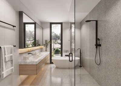 The Cascades | Bathroom & Ensuite | House and Land for Sale in Kenmore, Brisbane | Artist's Impression