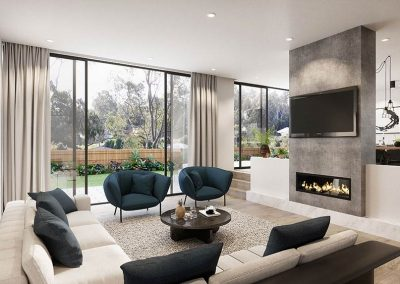 The Cascades | Living Area | House and Land for Sale in Kenmore, Brisbane | Artist's Impression
