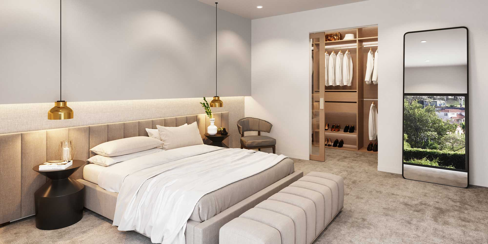 Bedroom at The Cascades | House and Land for Sale in Kenmore, Brisbane | Artist's Impression