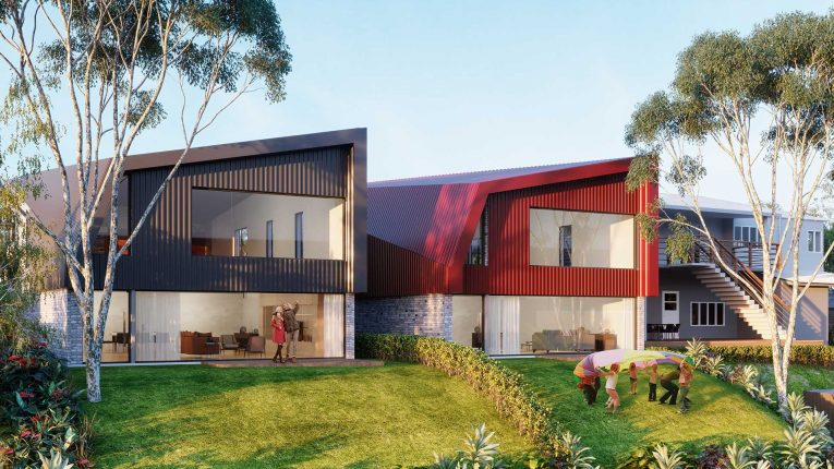 The Cascades, lot 2 and 3. Beautiful homes for sale, Brisbane.